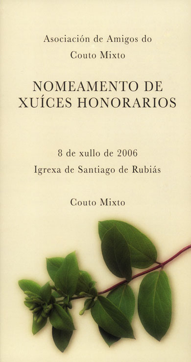 Xuices Honorarios 2006