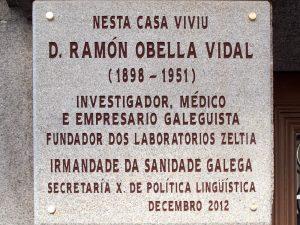 Placa Ramón Obella Vidal