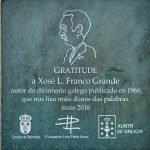 Homenaxe a Xosé L. Franco Grande