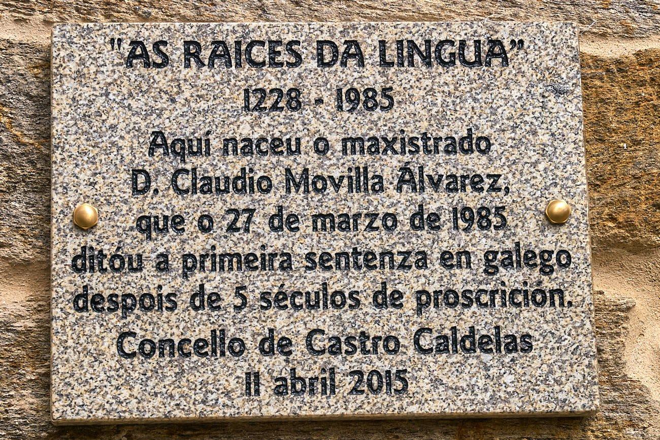 As raíces da lingua - IXUGA