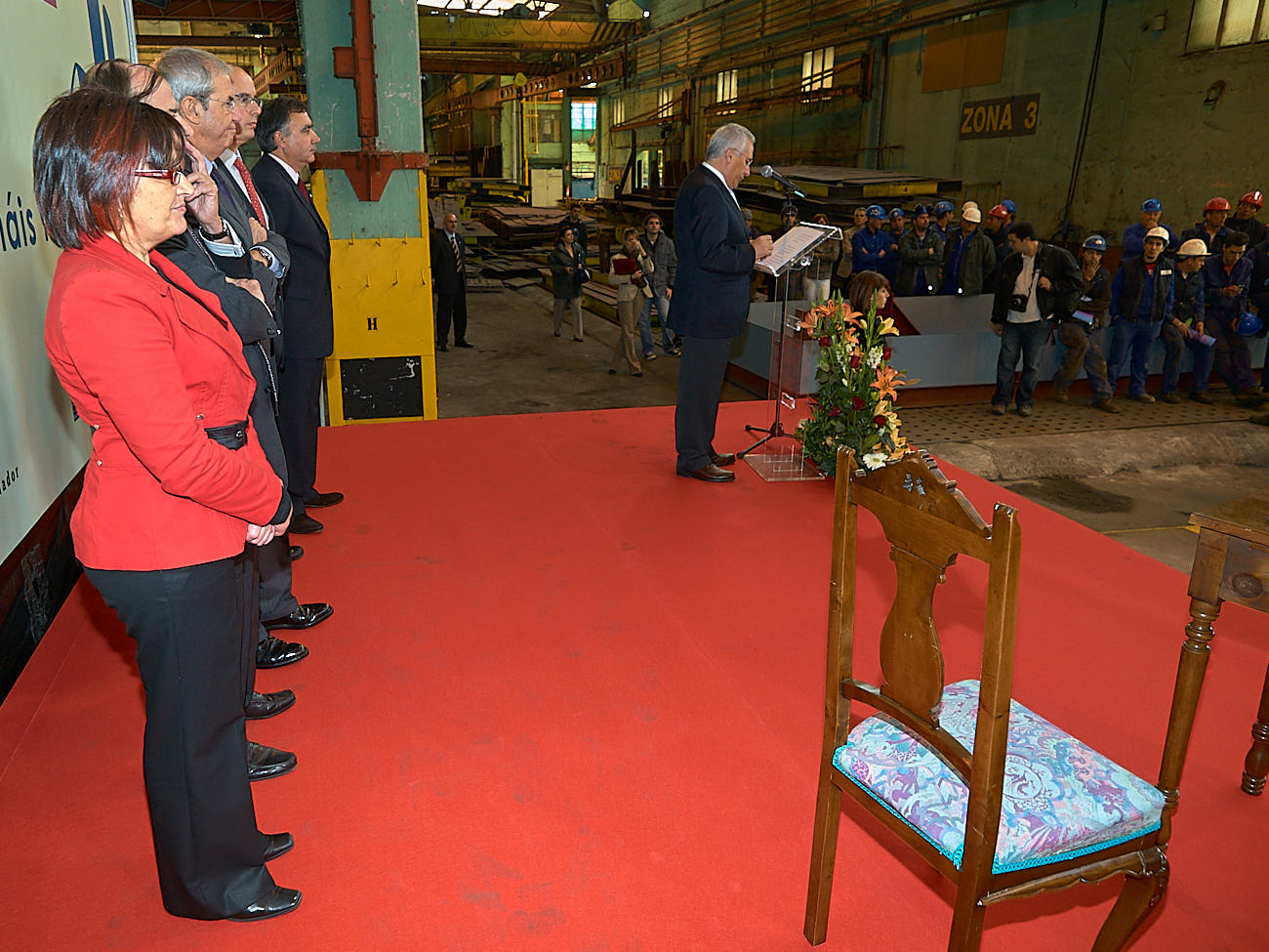 Sinatura do convenio do Clúster do Naval - Foro Peinador - 08/10/2008