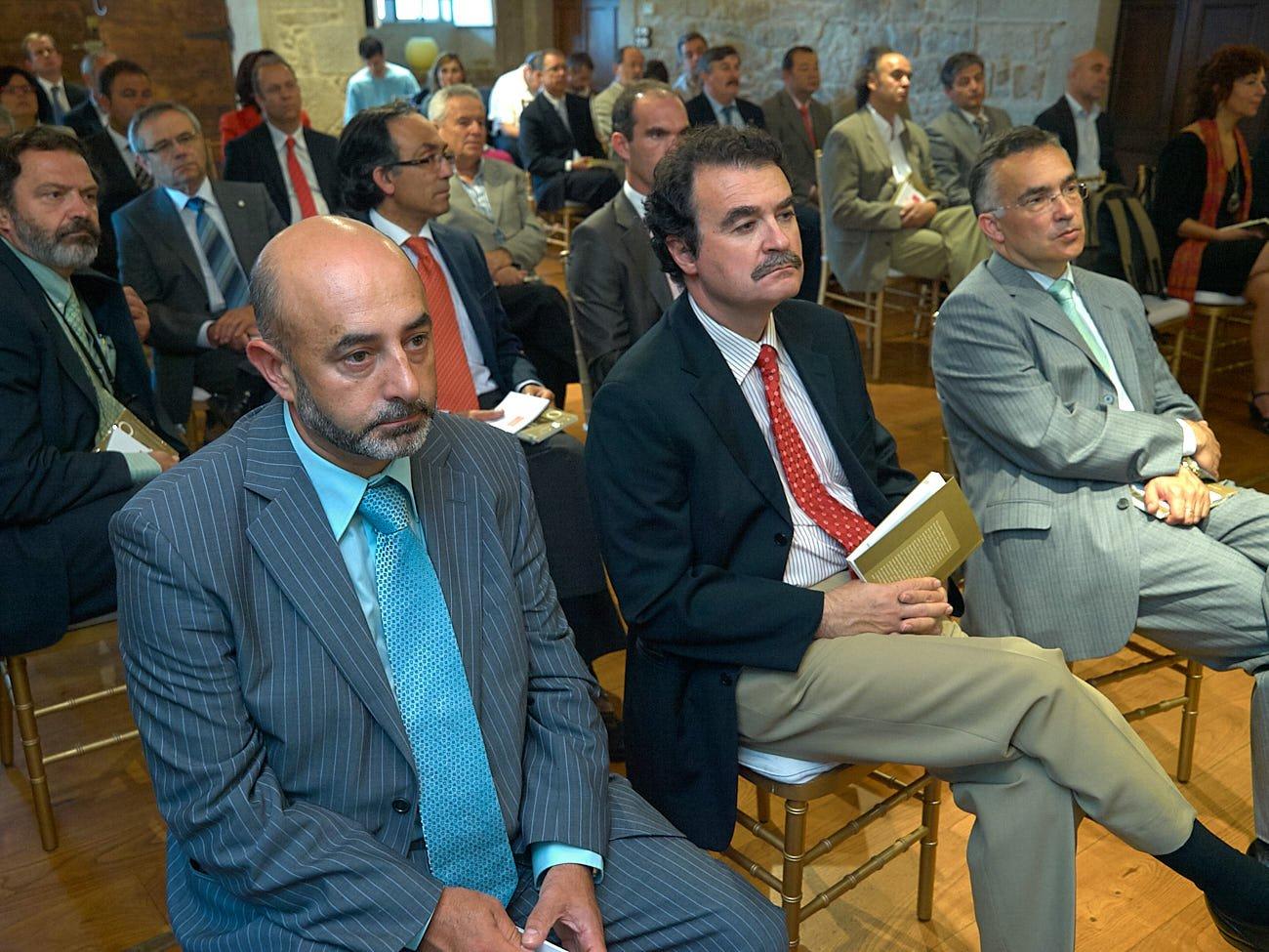 """""""Sinatura convenios Pazo da Toxeiriña"""" Foro Peinador 24/06/2009"""