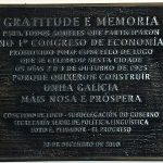 85º Aniversario do Congreso de Economía de Galicia do ano 1925 Foro