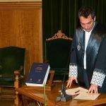 Imposición de medallas aos novos membros da Irmandade Xurídica Galega 2009