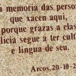 DEIXA EN HERDANZA A TÚA LINGUA - Arcos da Condesa